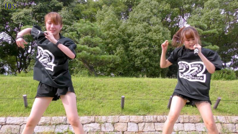 灼熱のアイドルライブ 「放課後ゲタ箱ロッケンロールMX」 城天 Japanese girls idol group [4K] 01:42