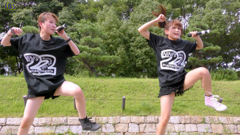 灼熱のアイドルライブ 「放課後ゲタ箱ロッケンロールMX」 城天 Japanese girls idol group [4K] 01:43