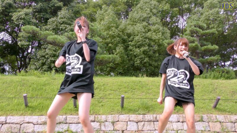 灼熱のアイドルライブ 「放課後ゲタ箱ロッケンロールMX」 城天 Japanese girls idol group [4K] 01:49