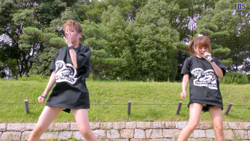 灼熱のアイドルライブ 「放課後ゲタ箱ロッケンロールMX」 城天 Japanese girls idol group [4K] 01:51
