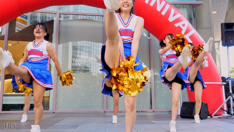 青のJKチアダンス Japanese Girls Cheerleader [4K] 02:41