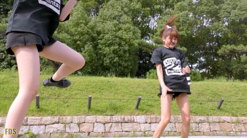 灼熱のアイドルライブ 「放課後ゲタ箱ロッケンロールMX」 城天 Japanese girls idol group [4K] 02:51