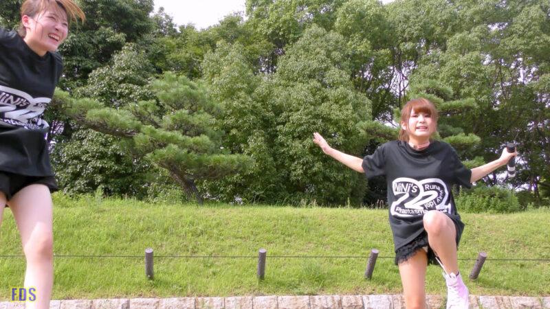 灼熱のアイドルライブ 「放課後ゲタ箱ロッケンロールMX」 城天 Japanese girls idol group [4K] 03:44