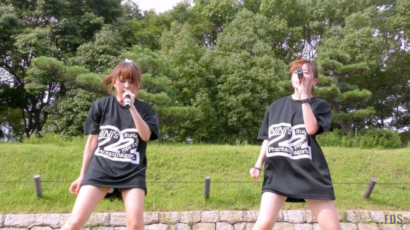 灼熱のアイドルライブ 「放課後ゲタ箱ロッケンロールMX」 城天 Japanese girls idol group [4K] 04:06