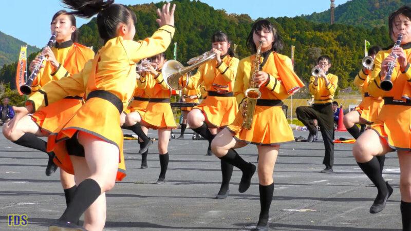 京都橘高校 吹奏楽部 大江山酒呑童子祭り マーチングドリル (後半) Kyoto Tachibana SHS Band [4K] 04:13