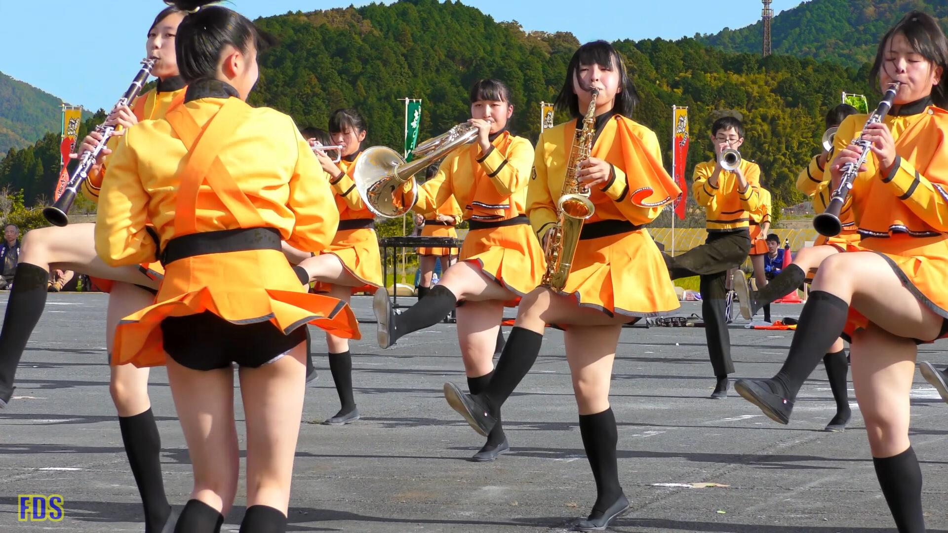 京都橘高校 吹奏楽部 大江山酒呑童子祭り マーチングドリル (後半) Kyoto Tachibana SHS Band [4K] 04:19