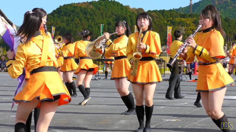 京都橘高校 吹奏楽部 大江山酒呑童子祭り マーチングドリル (後半) Kyoto Tachibana SHS Band [4K] 04:36