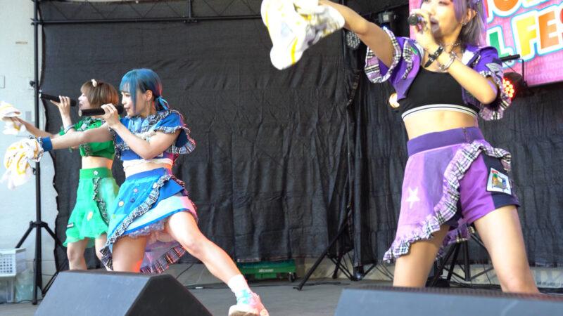 【4K/a7Ⅲ】にっぽんワチャチャ② TOHOKU IDOL FESTIVAL!!2021 勾当台野外音楽堂 2021/07/24 01:05