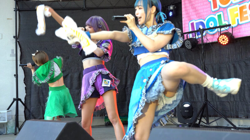 【4K/a7Ⅲ】にっぽんワチャチャ② TOHOKU IDOL FESTIVAL!!2021 勾当台野外音楽堂 2021/07/24 02:45