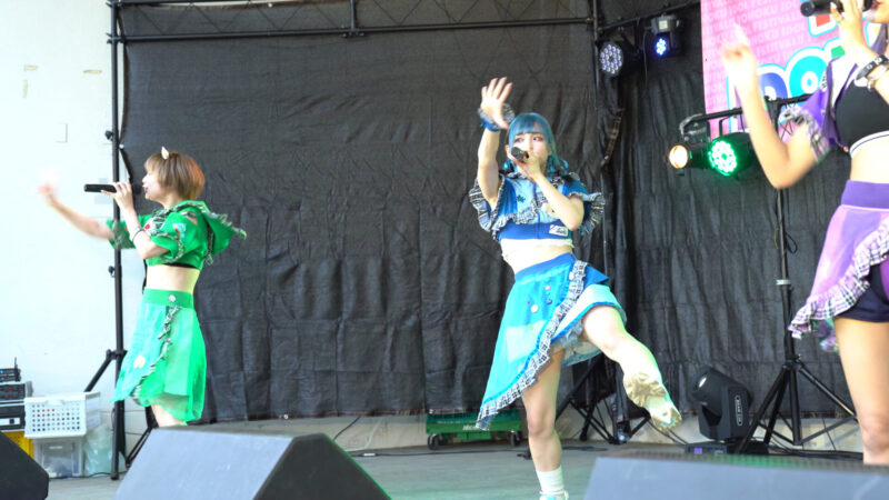 【4K/a7Ⅲ】にっぽんワチャチャ② TOHOKU IDOL FESTIVAL!!2021 勾当台野外音楽堂 2021/07/24 08:16