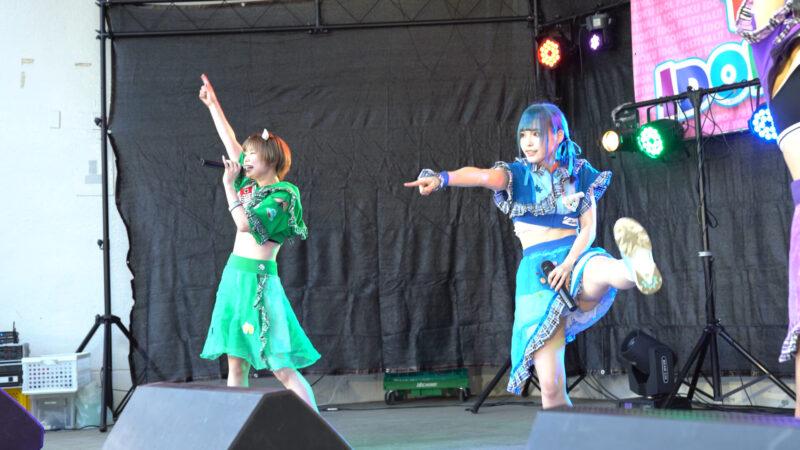 【4K/a7Ⅲ】にっぽんワチャチャ② TOHOKU IDOL FESTIVAL!!2021 勾当台野外音楽堂 2021/07/24 12:03